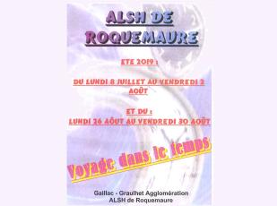 ALSH ROQUEMAURE AFFICHE